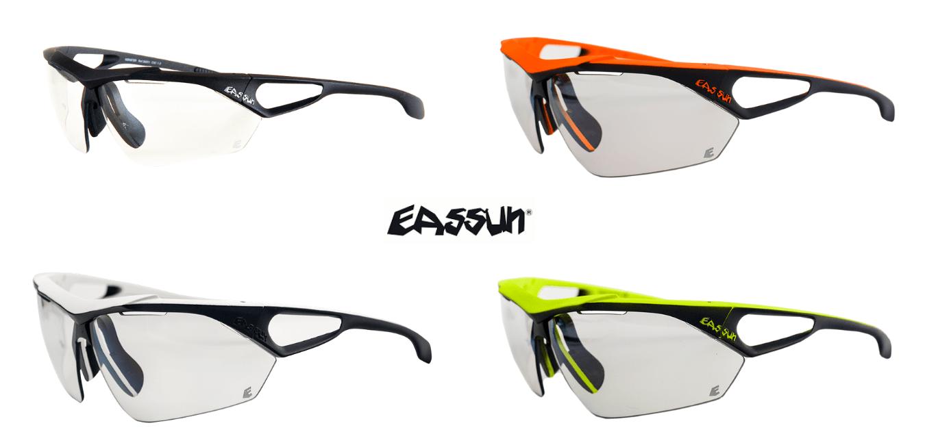 Gafas de Running y Ciclismo Monster EASSUN, Amarillo Flúor, Naranja, Roja, Negra y Blanca